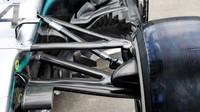 Přední zavěšení Mercedesu