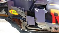 Deflektory a bočnicové panely Red Bullu