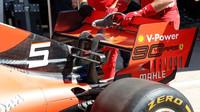Zadní křídlo Ferrari