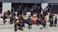 Nácvik zastávky u Red Bullu
