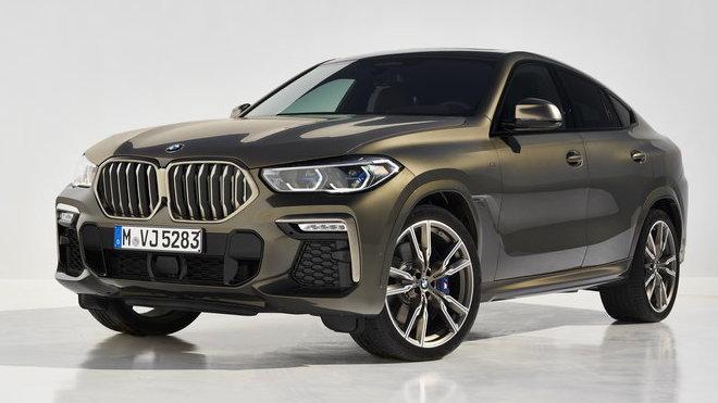 Nové BMW X6 (2019)