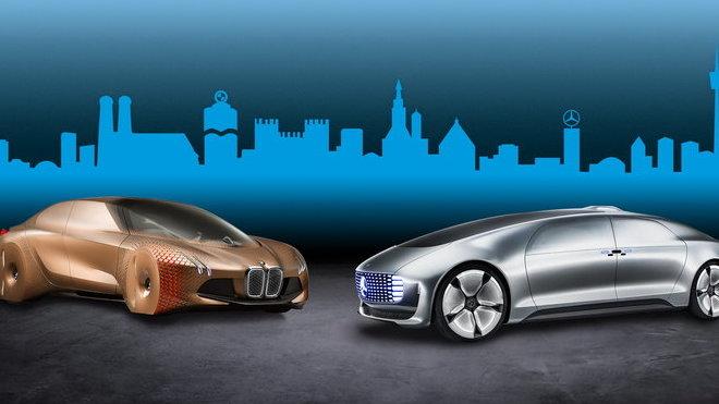 BMW Group a Daimler AG zahájily dlouhodobou spolupráci na vývoji systémů pro automatizovanou jízdu.
