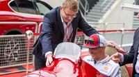 Kimi Räikkönen a Hakinen v Silverstone
