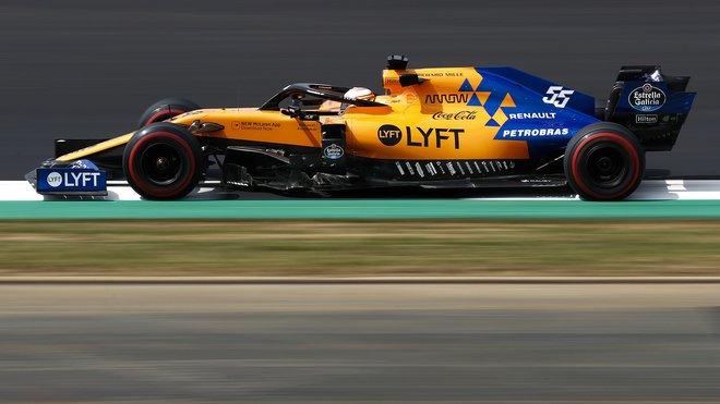 Carlos Sainz s McLarenem MCL34