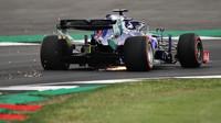 Nejvyšší rychlost dnes byla naměřena Daniilovi Kvjatovi s vozem Toro Rosso STR14