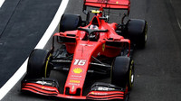 Charles Leclerc v kvalifikaci v Silverstone