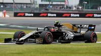 Kevin Magnussen v kvalifikaci v Silverstone