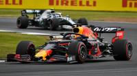 Max Verstappen v kvalifikaci v Silverstone