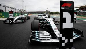 Valtteri Bottas po kvalifikaci v Silverstone