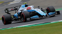 Robert Kubica v kvalifikaci v Silverstone