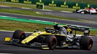 Nico v závodě v Silverstone