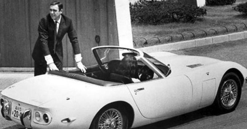 Toyota 2000 GT a James Bond