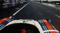 24 hodin Le Mans: Porsche 936 a závodní jezdec Jürgen Barth