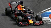 Max Verstappen v kvalifikaci v Německu