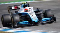 Robert Kubica s Williamsem FW42 v kvalifikaci na Velkou cenu Německa