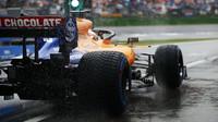 Carlos Sainz v závodě v Německu