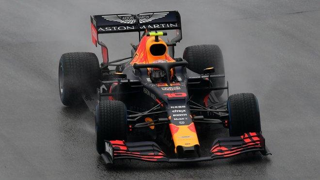 Pierre Gasly v závodě v Německu