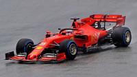 Sebastian Vettel v závodě v Německu