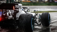Valtteri Bottas v závodě v Německu