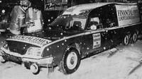 Upravený Citroën CX pro rozvoz novin Financial Times