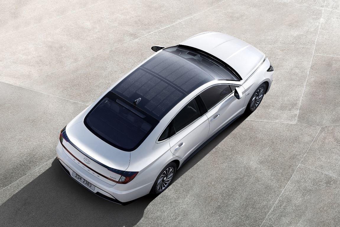 Hyundai představil model Sonata Hybrid