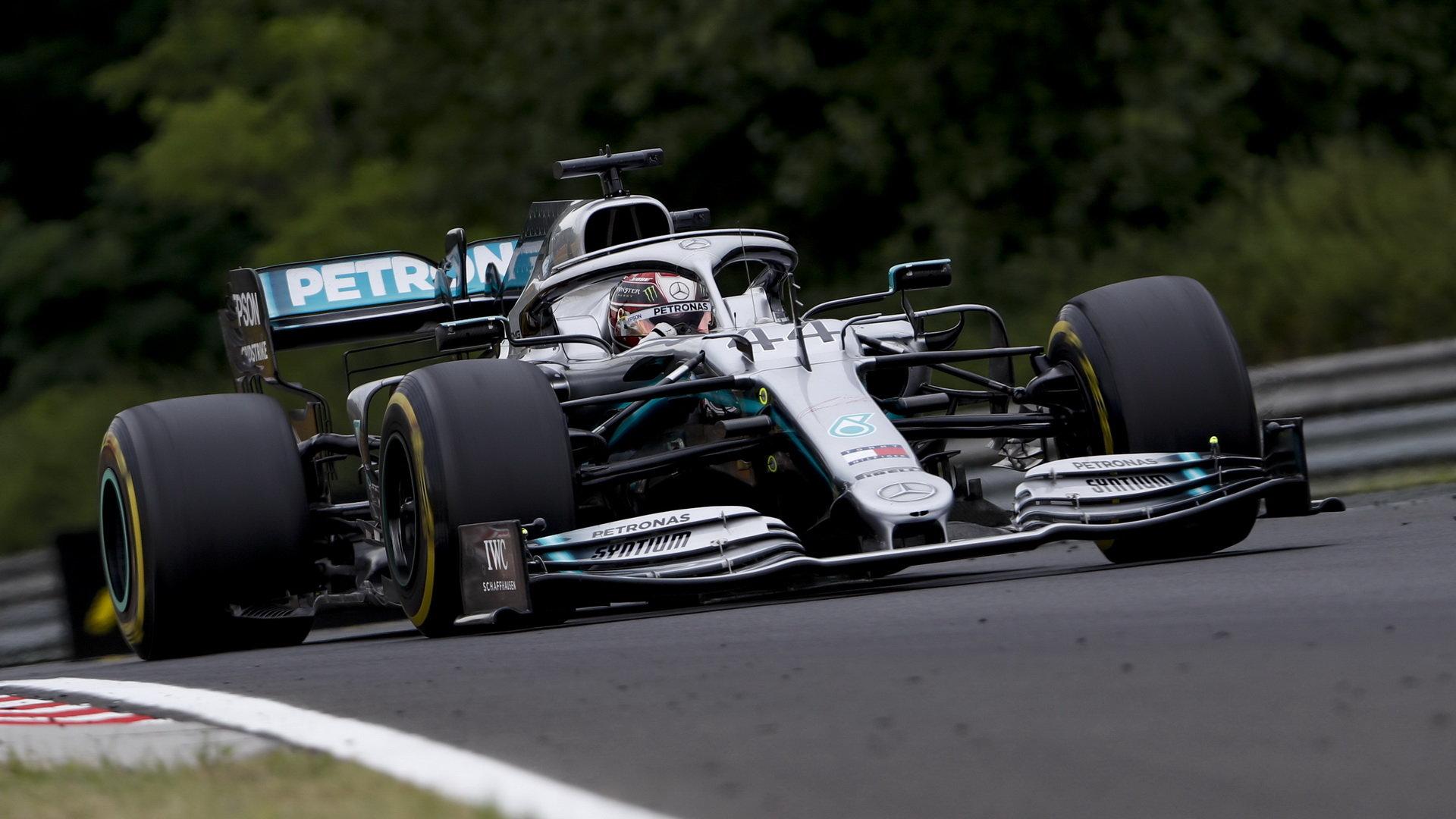 Lewis Hamilton potvrdil své mistrovské umění