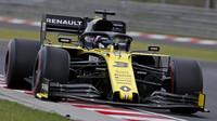 Daniel Ricciardo s Renaultem byl v GP Maďarska nejrychlejší na rovinkách
