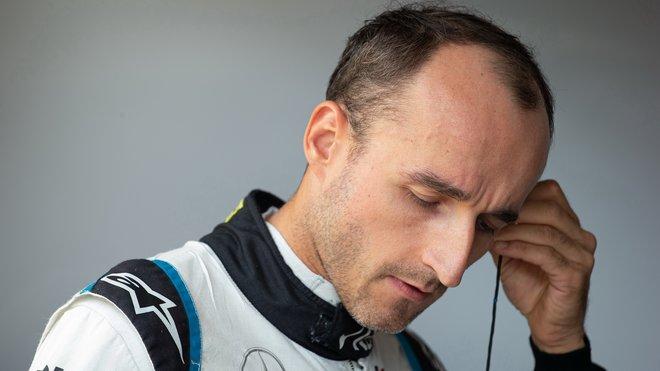 Robert Kubica v kvalifikaci v Maďarsku