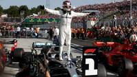 Lewis Hamilton po závodě v Maďarsku