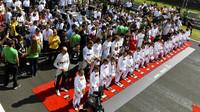 Slavnostní zahájení závodu v Maďarsku