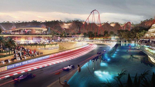 Po Bahrajnu a Abú Zabí by se měl plánovaný okruh stát třetím dějištěm F1 v tamějším regionu