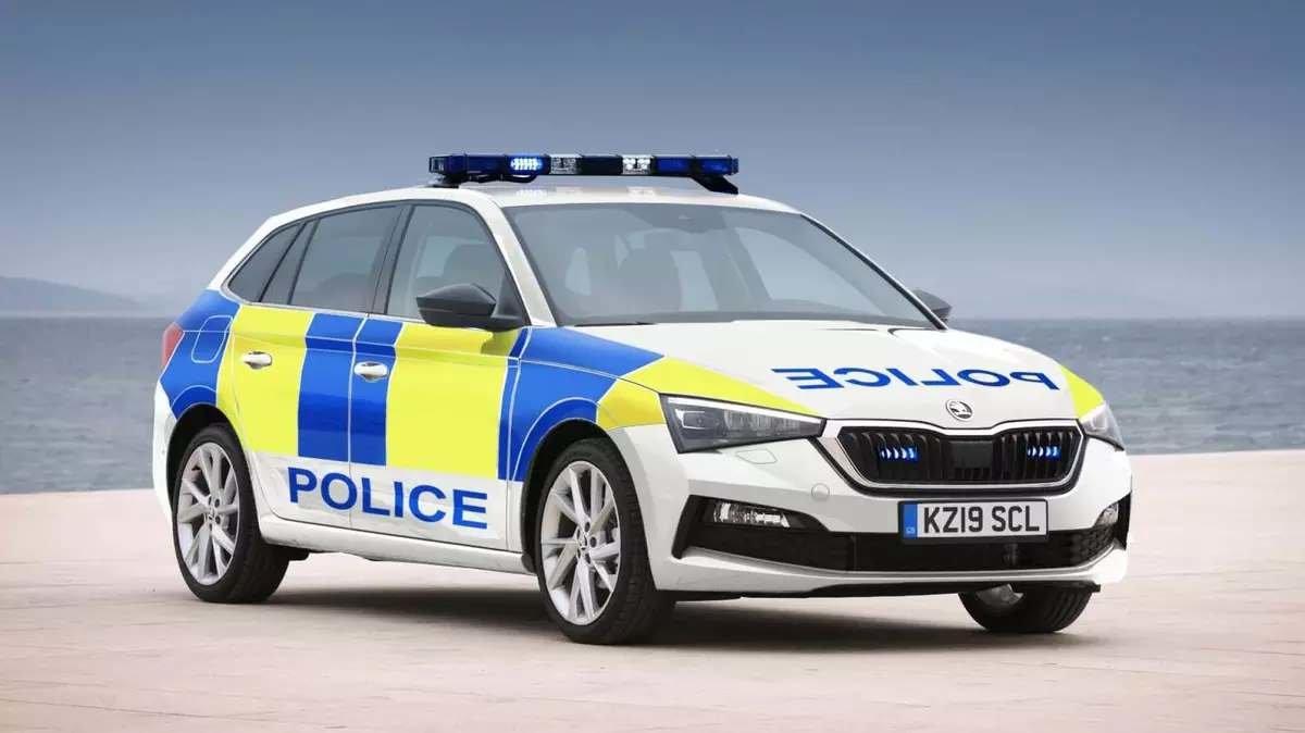 Škoda Scala Police Car