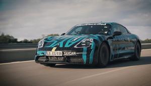 Porsche Taycan se proháněl v Nardò!