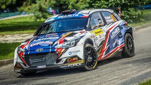 Úspěšná premiéra Ondřeje Bisahy a Hyundai Lenner Sport na Barum rally - anotační obrázek