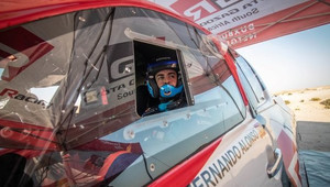 Fernando Alonso ve spolupráci s Toyota Gazoo Racing pokračuje v testech na dakarskou rallye