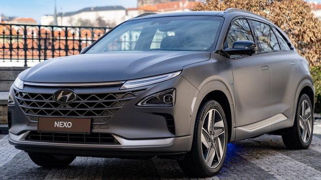 Auta na náplavce 2019: Hyundai Nexo