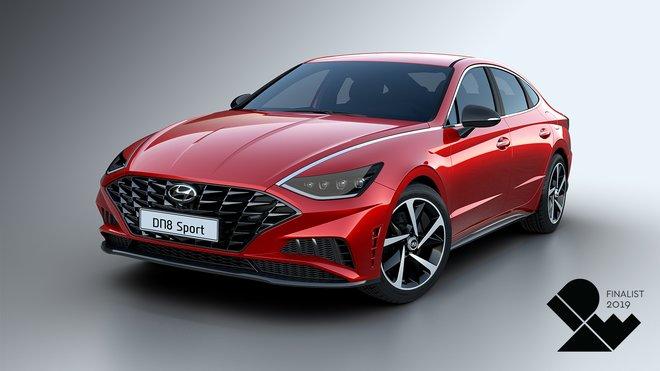 Hyundai Sonata 2020 byl oceněn za estetické a funkční inovace v oblasti designu