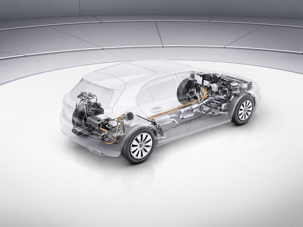 Mercedes B 250 e, to je dynamika hot hatche a spotřeba mopedu
