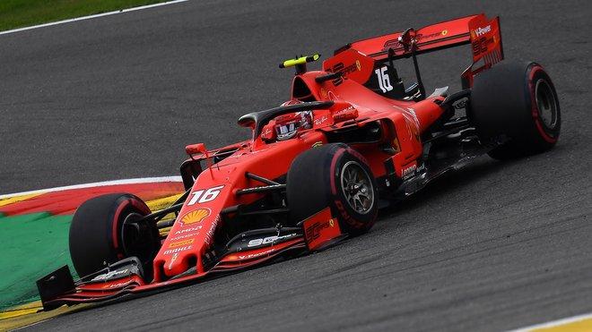 Charles Leclerc má na kontě čtvrtou pole-position kariéry