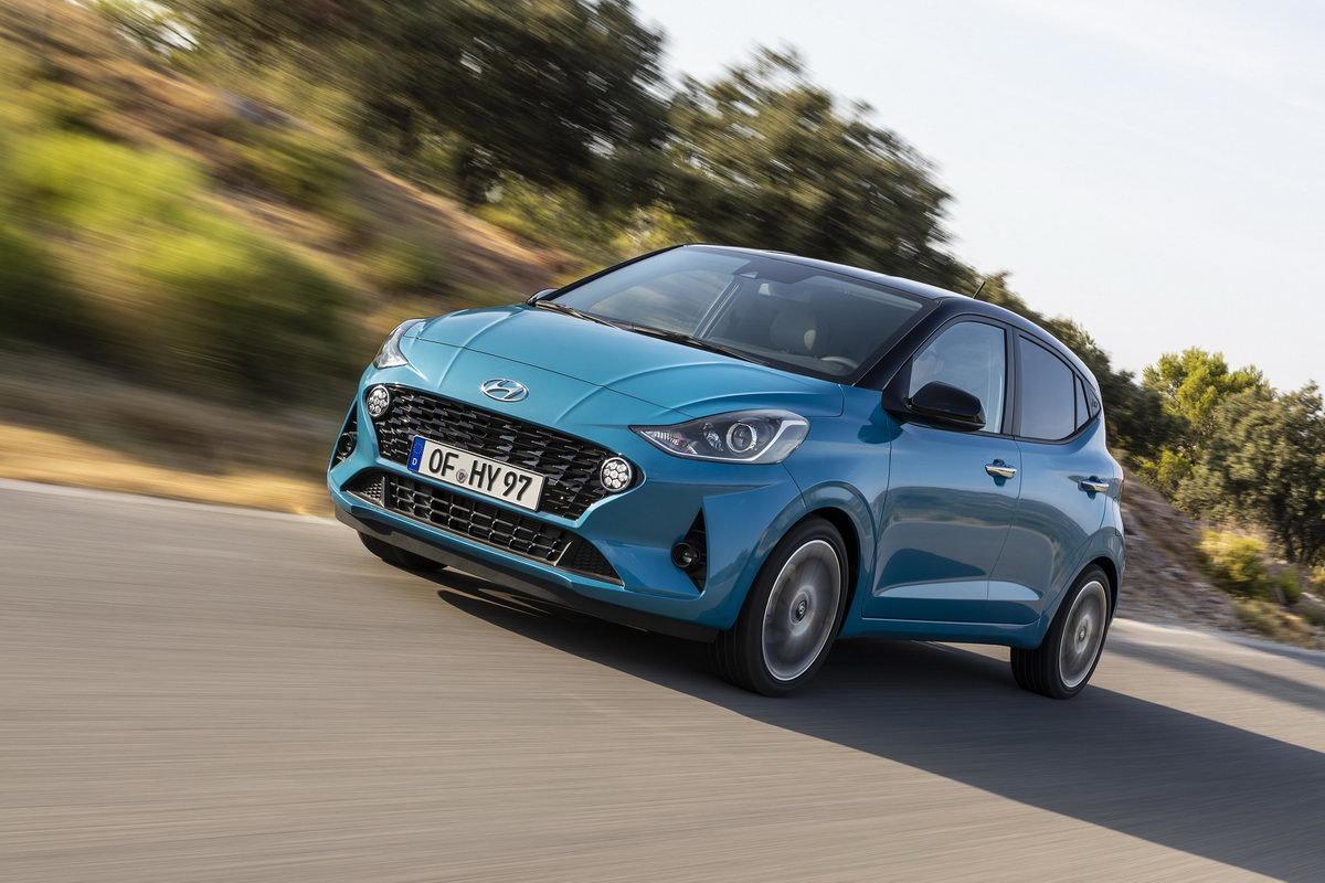 """Nový Hyundai i10 je podle Němců """"Šampionem zůstatkové hodnoty 2020"""" - anotační obrázek"""