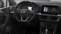 "Interiéru Seatu Tarraco FR PHEV dominuje informačně zábavný systém s displejem velikosti 9,2"""
