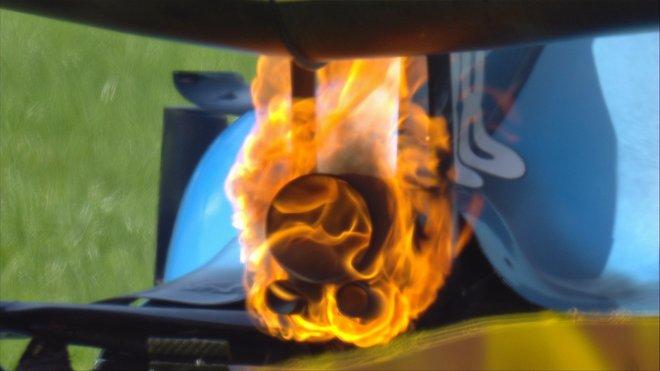 Závada motoru Mercedes v Kubicově Williamsu na začátku kvalifikace