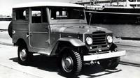 Toyotě se u modelu Land Cruiser Hardtop FJ25 z roku 1957 podařilo vyladit plastovou střechu tak, aby ji neničily rozdíly teplot a mechanické poškození