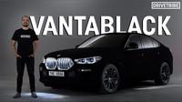 BMW X6 Vantablack je ČERNÁ DÍRA na 4 kolech! Nejčernější černá, která nechá zmizet detaily