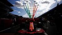 Sebastian Vettel před závodem v Itálii na Monze