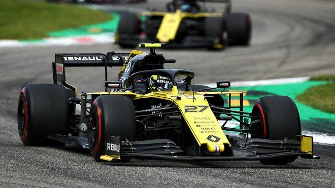 Renaulty během úspěšného víkendu na Monze