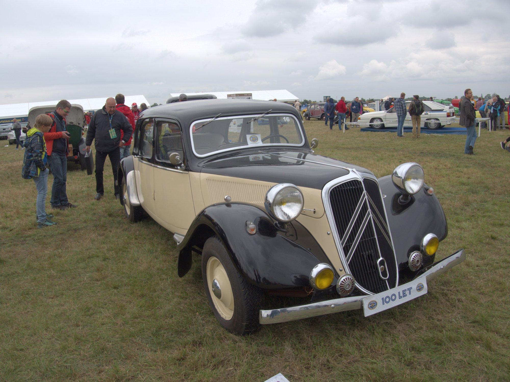 Citroën 15 SIX/G 1938