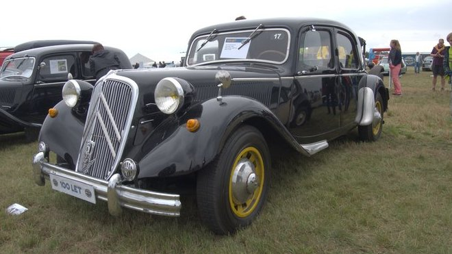 Citroën 15 Six Traction Avant  1952