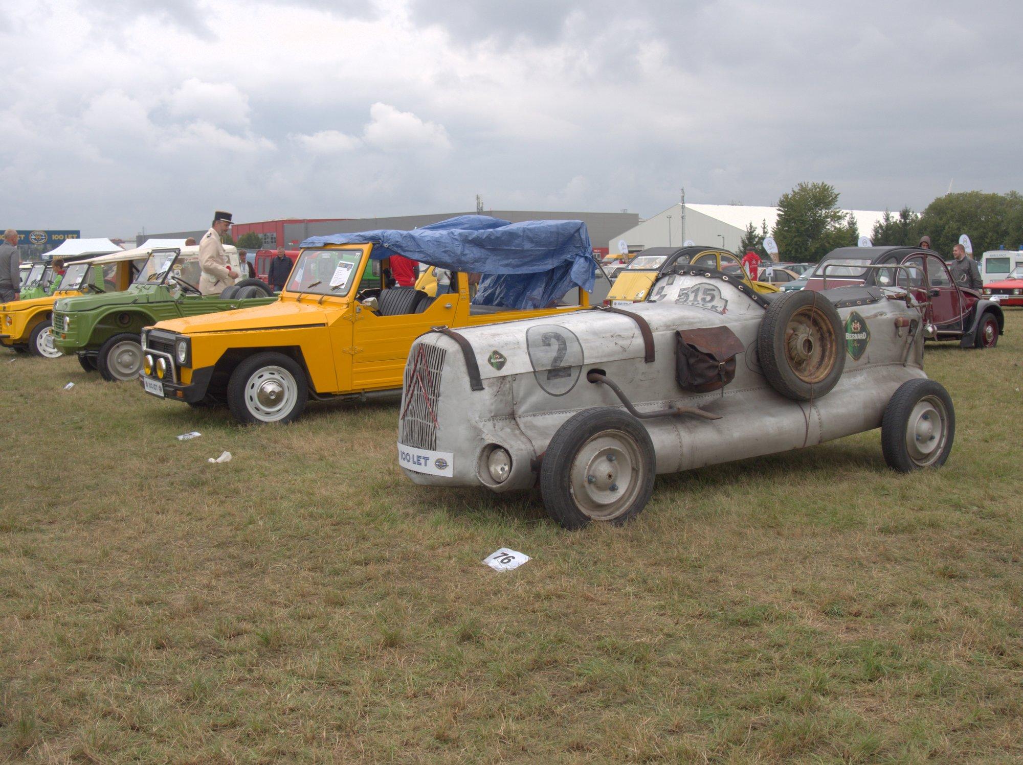 kreace na Citroën 2CV