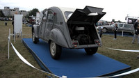 Citroën 2 CV 4x4 Sahara, každá náprava má svůj motor